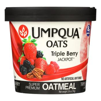 Umpqua Oats - Oats Triple Berry Cup - Case Of 8-2.61 Oz
