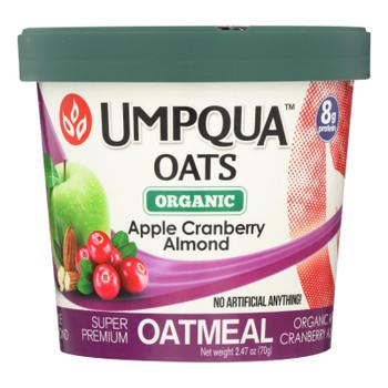 Umpqua Oats - Oats Apple Crnbry Cup - Case Of 8-2.47 Oz