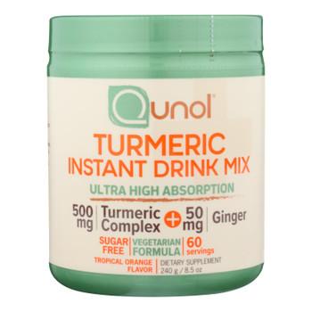 Qunol - Turmeric Drink Mix 500mg - 1 Each 1-8.5 Oz