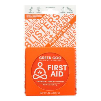 Green Goo Good Goo - First Aid Large Tin - Case Of 6-1.82 Oz