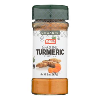 Badia Spices Og2 Ground Turmeric  - Case Of 8 - 2 Oz