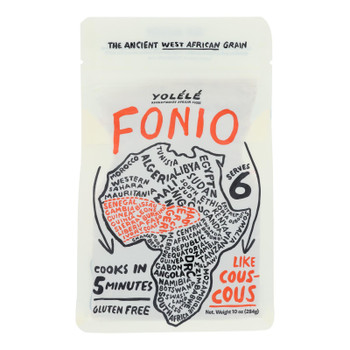 Yolele - Grain Fonio Microwavable - Cs Of 6-10 Oz
