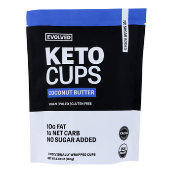 Evolved - Keto Cups Og2 Coconut Btr - Cs Of 6-4.93 Oz