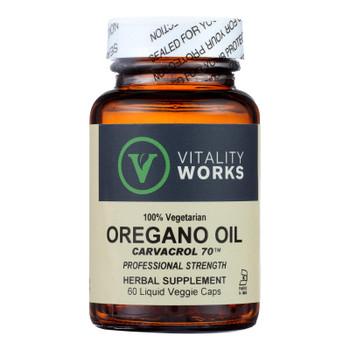Vitality Works - Oregano Oil - 1 Each-60 Vcap