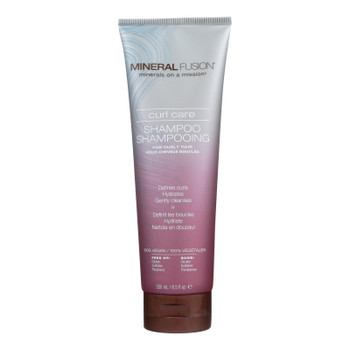 Mineral Fusion - Mineral Shampoo - Curl Care - 8.5 Fl Oz.