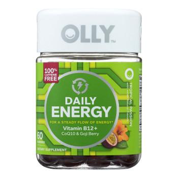 Olly - Daily Energy Gummy Tropic - 60 Ct