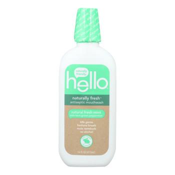 Hello Products Llc - Mthwsh Antsptc Natural Fresh - 1 Each-16 Fz