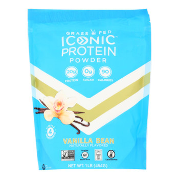 Iconic - Protn Powder Vanilla Bean - 1 Each-lb