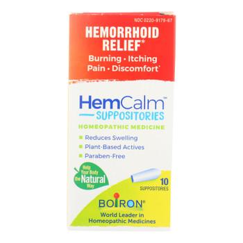 Hemcalm - Helcalm Suppositories - 1 Each 1-10 Ct