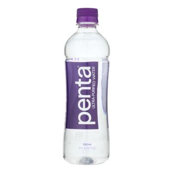 Penta Purified Water Ultra Purified Water - Case Of 24 - 16.9 Fl Oz.