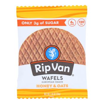 Rip Van Wafels - Wafel Honey Oats - Cs Of 12-1.16 Oz