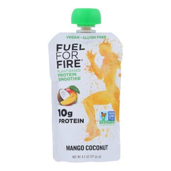 Fuel For Fire - Protn Smthie Fruit Mango Cnt - Case Of 12 - 4.5 Oz