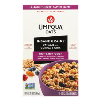 Umpqua Oats - Oats Fruit&nut Packets - Case Of 8-11 Oz