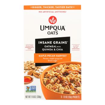 Umpqua Oats - Oats Maple Pecan Packets - Case Of 8-11 Oz