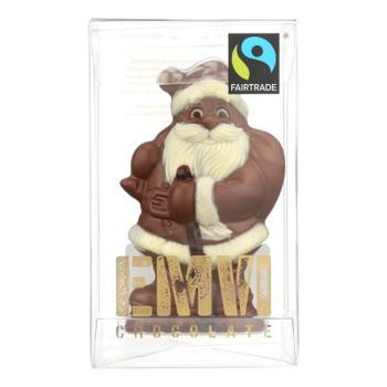 Emvi Chocolate - Chocolate Milk The Fair Santa - Case Of 9 - 3 Oz