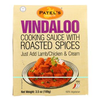 Patel's - Sauce Vindaloo Rst Spices - Case Of 4 - 6 Pack