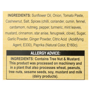 Patel's Butter Chicken Cooking Sauce With Roasted Spices - Case Of 4 - 6 Pack