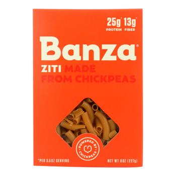 Banza Ziti Chickpea Pasta  - Case Of 6 - 8 Oz