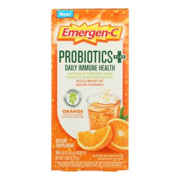 Emergen-c - Probiotics Immune Orange - 1 Each - 14 Ct