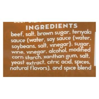 Stryve Foods - Beef Biltong Teriyaki - Case Of 12-2.25 Oz