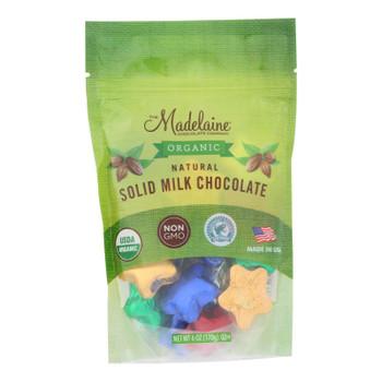 Madelaine Chocolate - Chocolate Assort Stars - Case Of 6 - 6 Oz