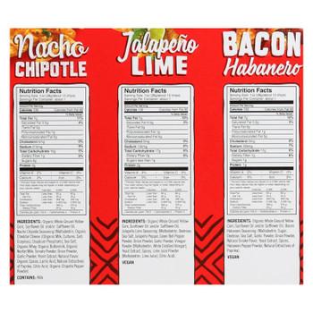 Late July Snacks - Plt Tort Chip Variety Pck - Case Of 63 - 24/1 Oz
