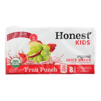 Honest Kids - Juice Drink Fruit Pnch - Case Of 5 - 8/6 Oz