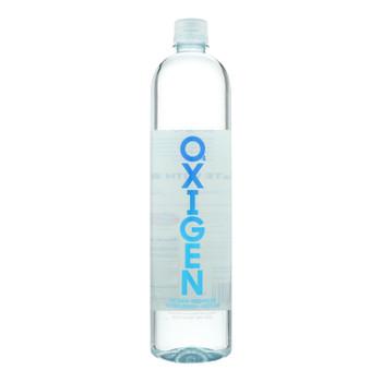 Oxigen - Water Oxigenated - Case Of 12 - 33.8 Fz