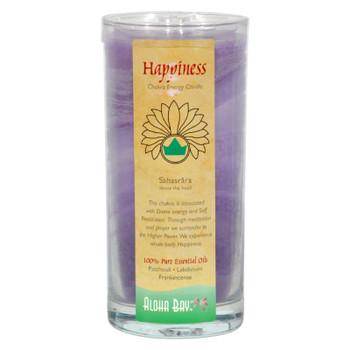 Aloha Bay - Chakra Jar Candle - Happiness - 11 Oz