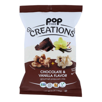 Creations - Popcorn Mx Chocolate/vanlla - Case Of 6-5 Oz