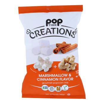 Creations - Popcorn Mx Marshmllw/cinnmn - Case Of 6-5 Oz