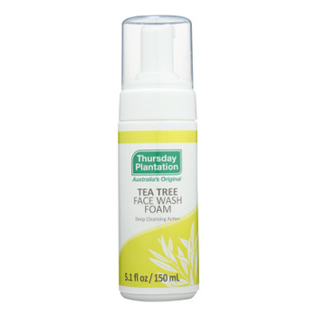 Thursday Plantation - Tea Tree Face Wash Foam - 1 Each 1-5.1 Fz