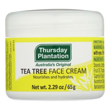 Thursday Plantation - Tea Tree Face Cream - 1 Each 1-2.29 Oz