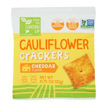 From The Ground Up - Cracker Cheddar Cauliflower - Case Of 24-.75 Oz