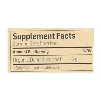 Alvita - Tea Og1 Herbal Dandelion - Ea Of 1-24 Bag