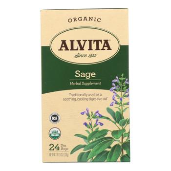 Alvita - Tea Og1 Herbal Sage - Ea Of 1-24 Bag