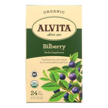 Alvita - Tea Og1 Bilberry - Ea Of 1-24 Bag