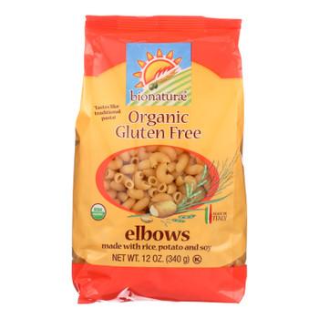 Bionaturae - Pasta Og1 Elbows G/f - Cs Of 12-12 Oz