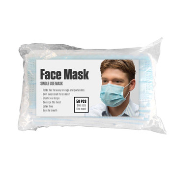 Mmg - Face Mask Single Use - 1 Each Of 50