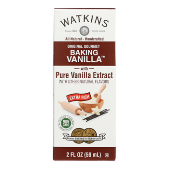 Watkins - Vanilla Dbl Strength - Cs Of 12-2 Fz