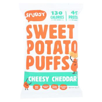 Spudsy - Sw Pot Puff Chsy Cheddar - Case Of 12 - 4 Oz