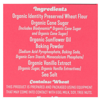 Foodstirs - Bkngmx Sweet Vanilla Cake - Case Of 6-18 Oz