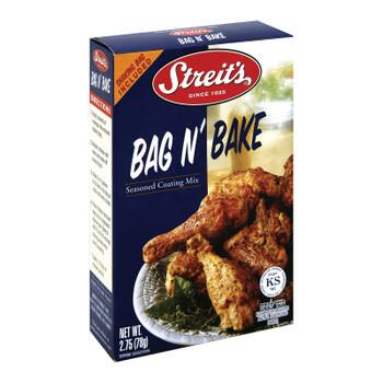 Streit's Bag N' Bake Seasoned Coating Mix - Case Of 12 - 2.75 Oz