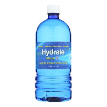 Hydrate - Water Alkaline Ionized - Case Of 12 - 1 Ltr