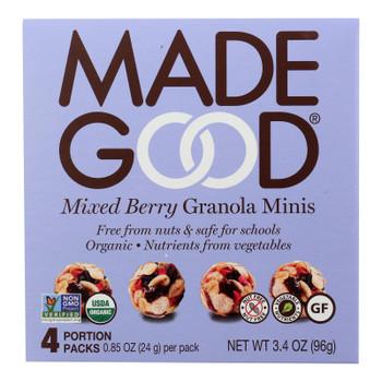 Made Good - Granola Mini Mixed Bery - Case Of 6 - 4/.85oz