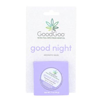 Green Goo Good Goo - Hemp Salve Aromatic Sleep - 1 Each - .7 Oz