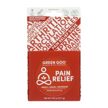 Green Goo Good Goo - Pain Relief Large Tin - Case Of 6-1.82 Oz