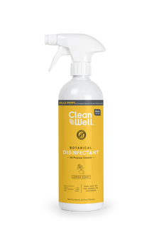 Cleanwell - Disinfectant Cleaner A/purp Lemon - Case of 8 - 1-24 oz