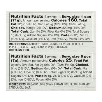Season Brand - Sardine Salad Kit Medit - Case Of 6-2.75 Oz
