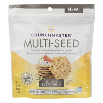 Crunchmaster - Mltisd Cracker Ult Everythng - Case Of 12 - 4 Oz